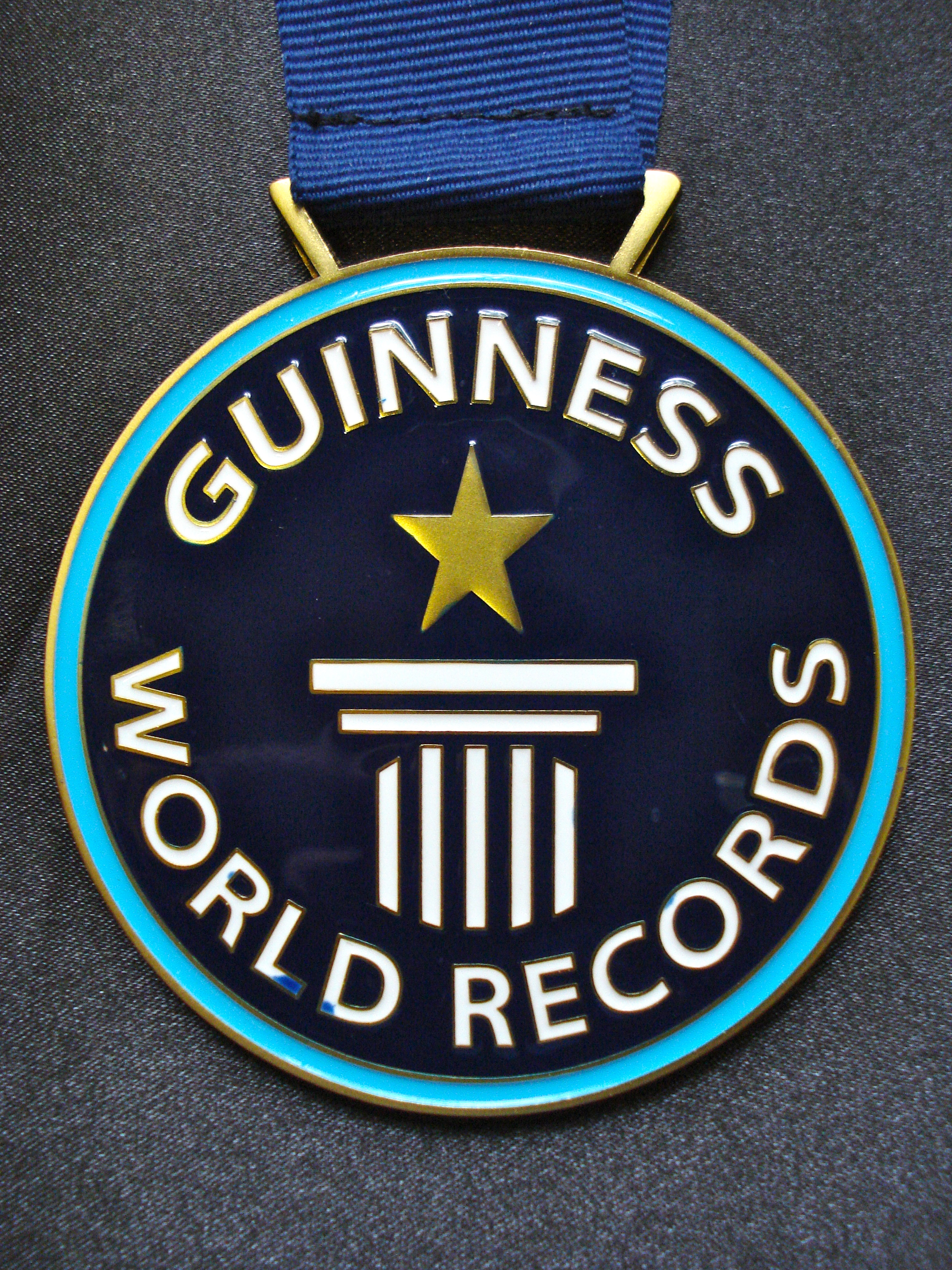 guinness world record certificate template