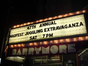 Marquee at the Barrymore Theater