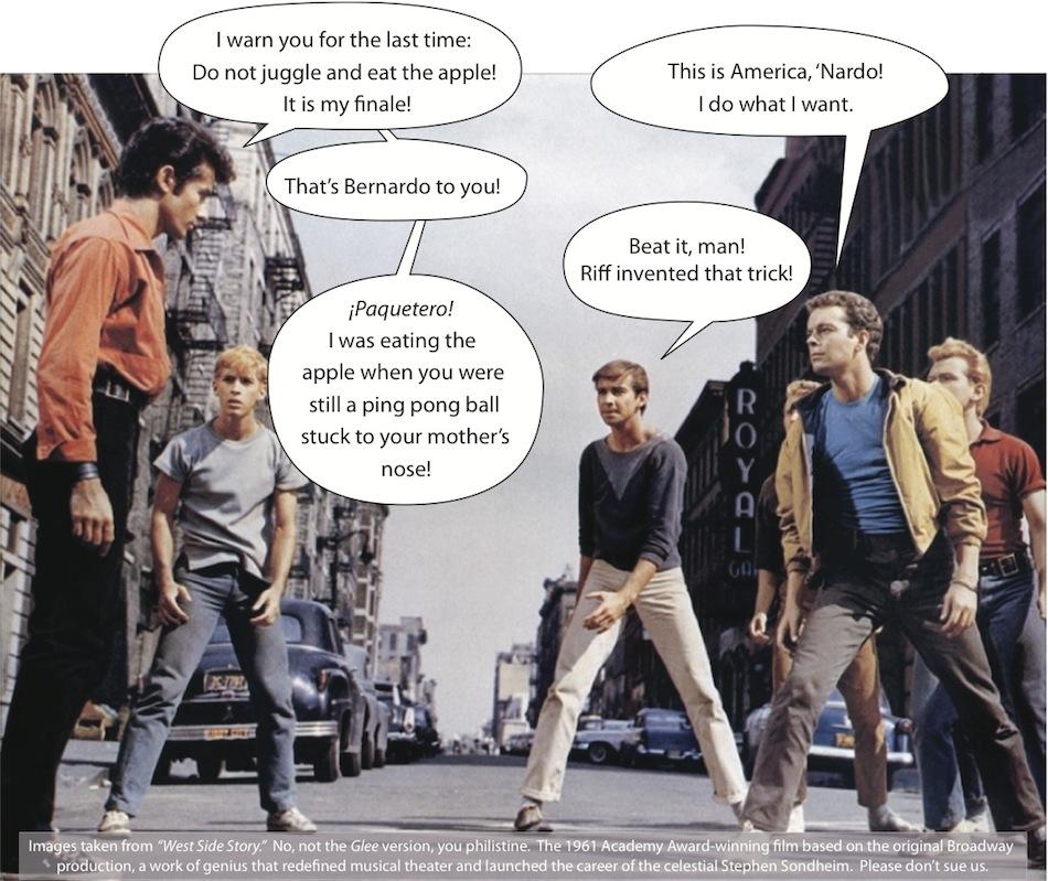 West Side Story Joke Picture