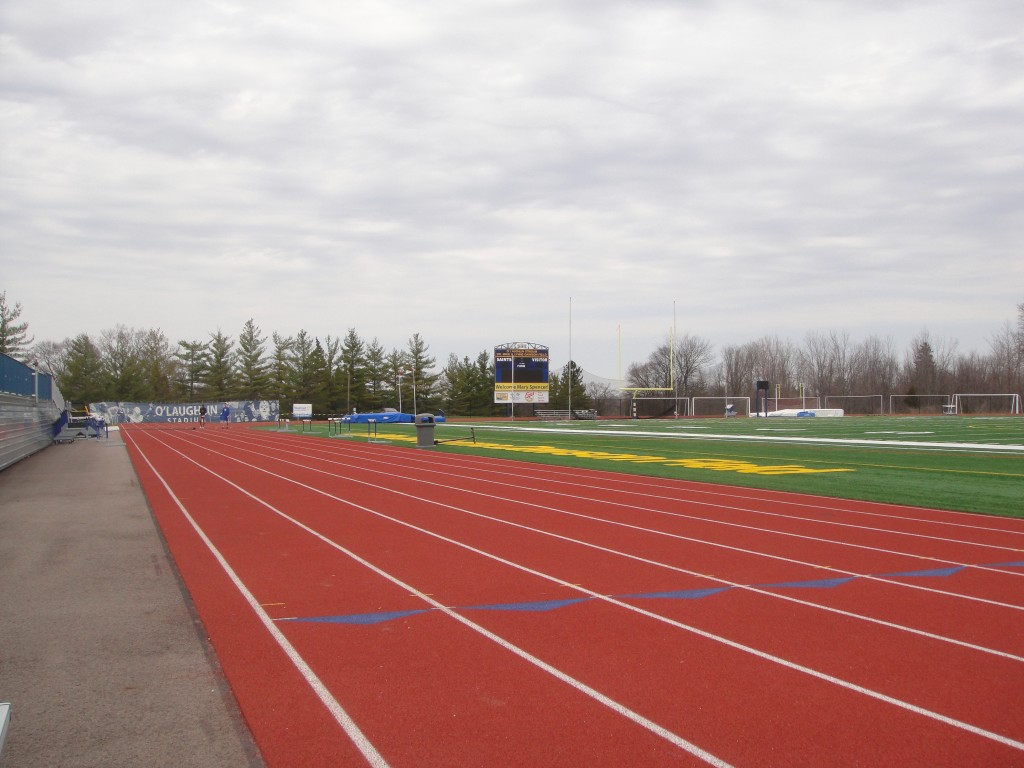 The track used for the attempt.