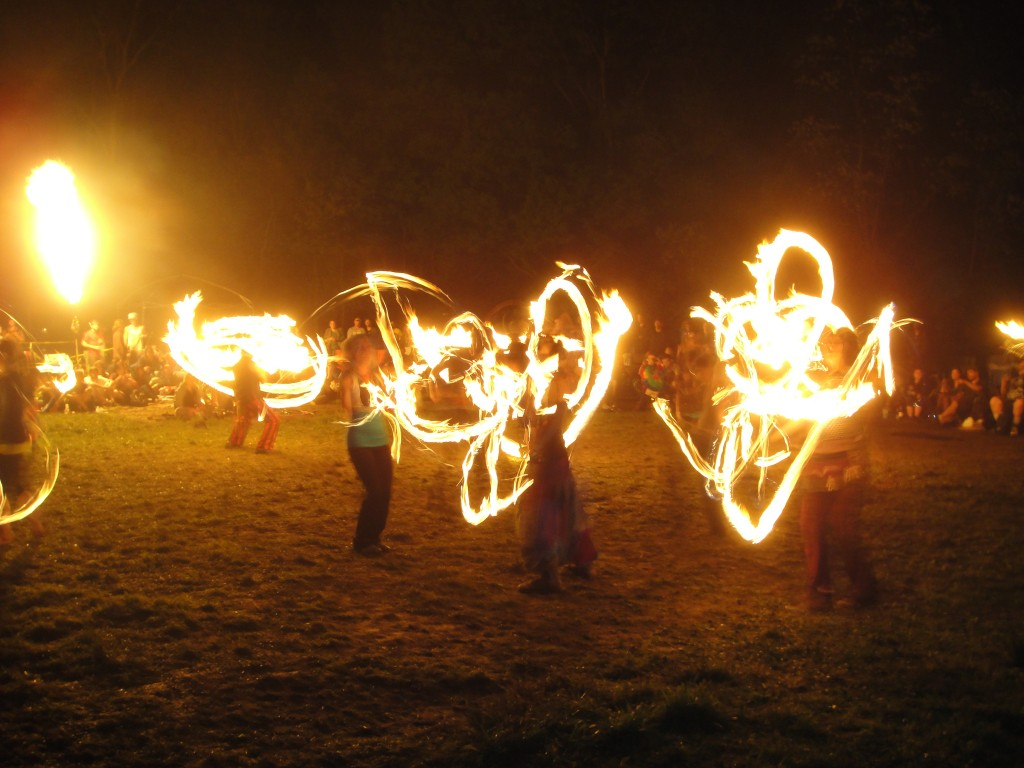 The Fire Circle.