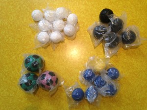 Flying Clipper donated Tossaball juggling balls for the bimonthly giveaway.
