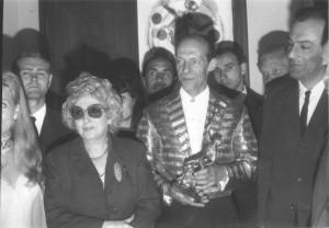 Alexander Kiss  & Mrs. Rastelli in Bergamo-Rastelli Trophy
