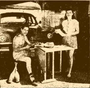 Hap and Mary Hazard with Clubs