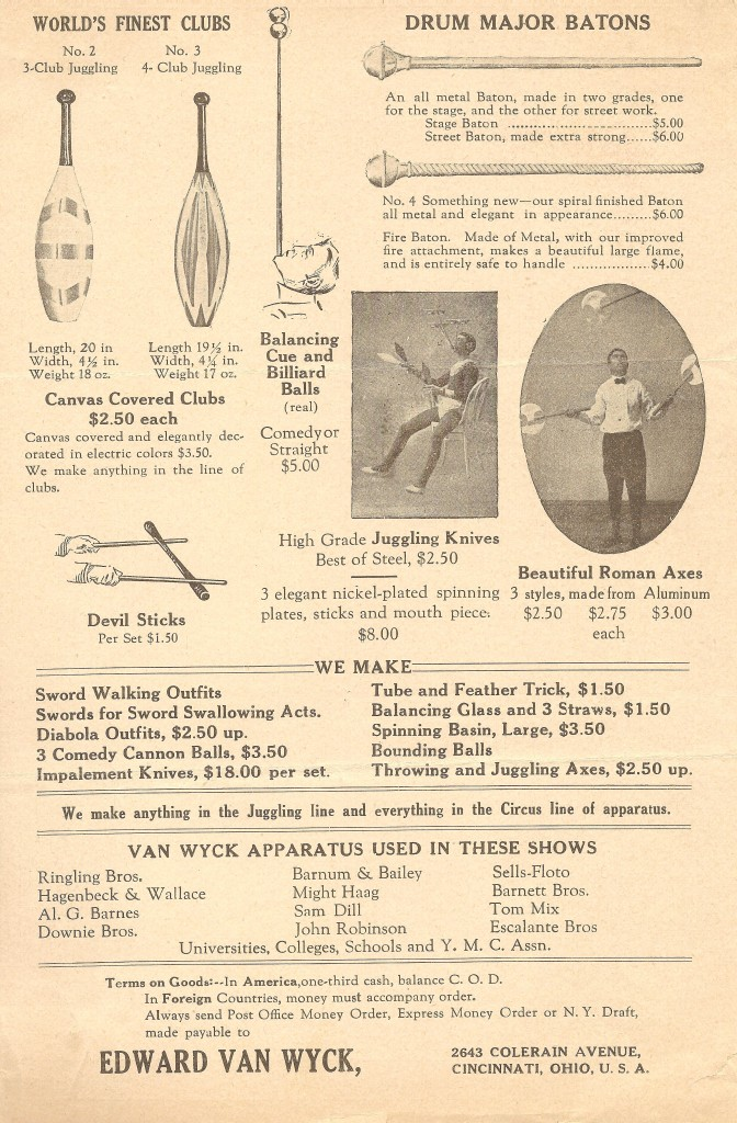 Van Wyck Catalog 1