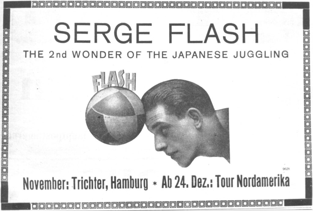 Flash Serge Programm 1927