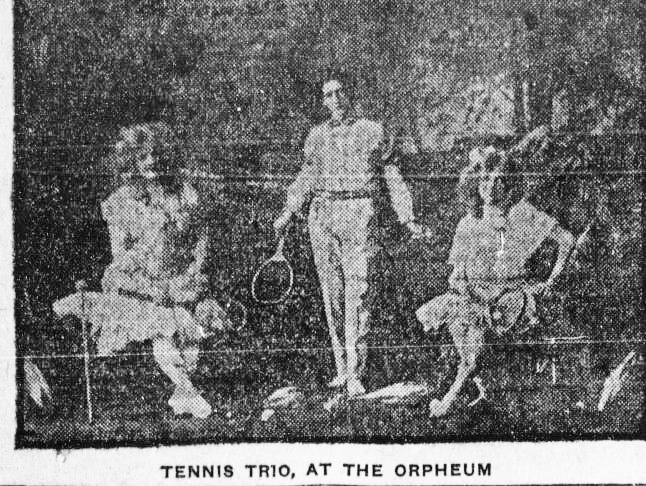 The Tennis Trio - Photo